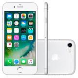 Iphone 7 32gb Prata Apple - 4g, Ios 10, Mn8y2br/a