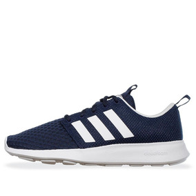 Tenis adidas Cloudfoam Swift Racer Azules Hombre A Meses