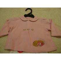 Camisa Manga Larga Rosa Bebe Niña 6-9 Meses Pooh