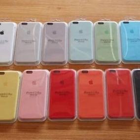 Capa Silicone Apple Iphone 5 5s Se 6 6s 7 8 X Plus Original