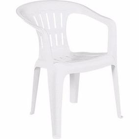 Poltrona Cadeira De Plastico Atalaia - Tramontina Branca