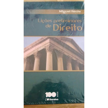 Lições Preliminares De Direito: Miguel Reale
