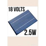 Kit 2x Painel Placa Solar 18v Celula Fotovotaica 2.5w