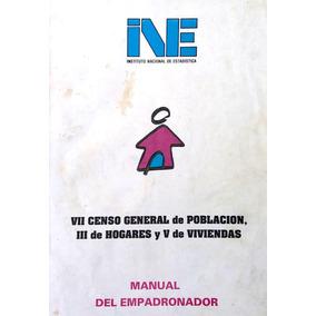 Material Censo 1996 Manual Empadronador Cuestionarios Datos