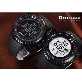 Relógio Digital Militar Masculino Ots 50 Mts Mergulho
