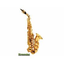 Saxofone Soprano Sib Curvo Dolphin