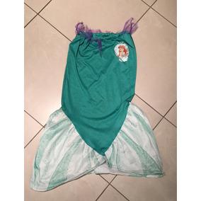 Disfraz Sirenita Ariel Y Otros Talle 4 A 6 Años Originales