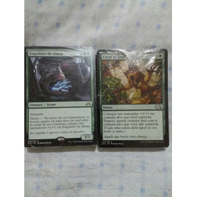 Deck Magic Verde Standard Com 75 Cartas Em Português