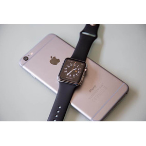 Apple Watch 42 Mm Zafiro Y Acero Inoxidable