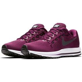 Zapatillas Nike Air Zoom Vomero 12 Púrpura Mujer Originales