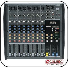 Mesa De Som 8 Canais C/ Usb Mark Audio Cmx08usb
