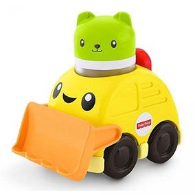 Mini Veículo - Roda Livre - Animalzinho - Trator - Fisher-pr