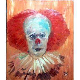 Pintura Al Oleo De Pennywise El Payaso Bailarin, Eso !!