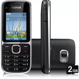 Nokia C2-01 Novo 3g 3.2mp Bluetooth Fm Mp3 2gb Novo Na Caixa