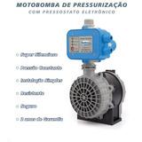 Bomba De Pressurizacao Pressostado Eletronico 1/2cv 220v *