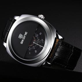 Relógio Skone + Caixa Super Inovador Frete Grátis