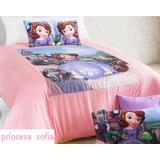 Cobertor 1 1/2 Plazas Princesa Safía+1 Almohadon