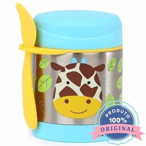 Pote Térmico Zoo Girafa 325ml Infantil Bebê - Skip Hop