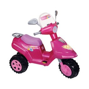 Moto Scooter Nena A Bateria Barbie Kitty Princesa Biemme