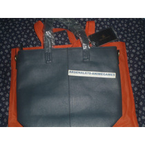 Bolsa Bolso David Jones Azul Dama