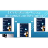 9 Sacos Aspirador Pó Electrolux Gt30n Gt3000 Novo Original