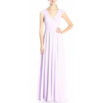 Vestido De Fiesta Largo Morado/lila Dama De Honor