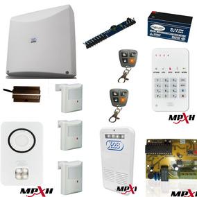 Alarma X28 Kit 34 Central N4 C/ Llamador Telefonico