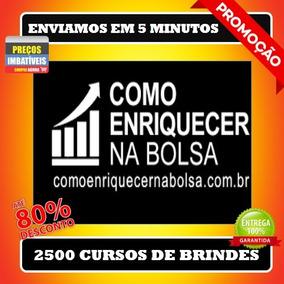 Como Enriquecer Na Bolsa De Valores- Marcelo Veiga+ 2500 Bri