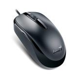 Mouse Alámbrico Usb Genius Dx-120 Negro