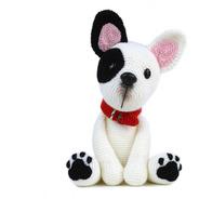 Bulldog - Perros A Crochet - Nariz De Azúcar Amigurumis