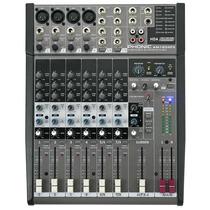 Mesa De Som Phonic Am1204fx 8 Canais Com Phantom E Efeitos