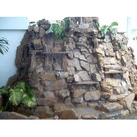 Decoracion Tipo Piedra , Madera Muy Original Escenarios