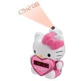 Hello Kitty Reloj Proyector Despertador Radio