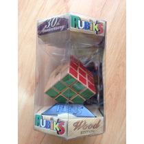 Cubo Rubik 3x3 De Madera 30 Aniversario Edición Limitada