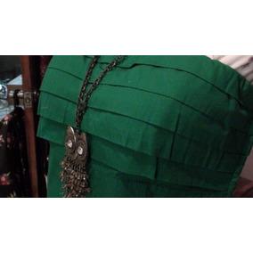 Vestido Noche Corto Coctel Straple Verde, Jack Loli / Lolita
