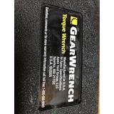 Torquimetro Gearwrench 3/4 Pulgada 100 A 600 Ft