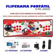 Fliperama Portátil Slim 3 Em 1 - Mario Odyssey