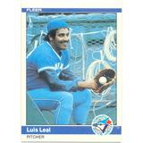 Barajita Luis Leal Blue Jays Fleer 1984 # 160