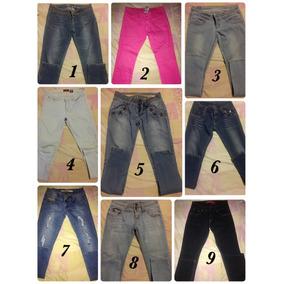 Pantalones Jeans Dama Usados En Perfecto Estado