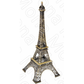 Torre Eiffel 13 Cm Pack X 30 Unidades Adorno De Metal