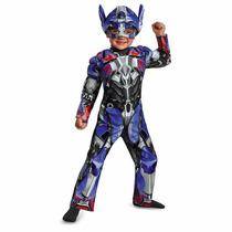 Transformers Disfraz Optimus Prime Traje De Niño Talla 2t