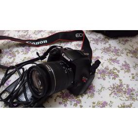 Câmera Profissional Canon Eos Rebel T3+lentes18-55mm+ 55-250