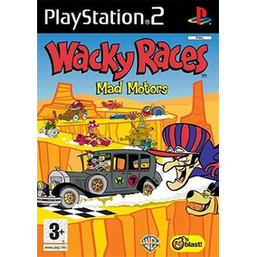 Wacky Races Mad Motors Ps2 (corrida Maluca) Patch