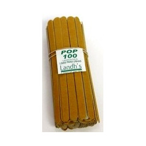 Lixa De Unha Landhs Kit Com 3 Pacotes De 100 Un Cada Atacado