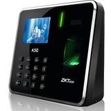 Control Acceso Biometrico Zk K-50 Tiempo Y Asistencia Rfid