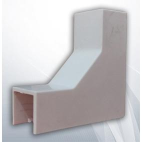 Codo Interior Pvc Accesorio Para Canaleta 1619 16x19mm