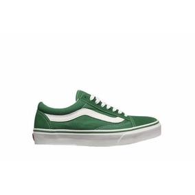 zapatillas vans hombre verdes
