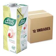 12x Chá Branco Sabor Lichia Feel Good Caixa 1l