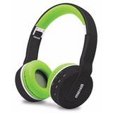 Auricular Maxell Mxh-bt800 Negro Con Verde