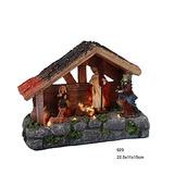 Decoración De Navidad Casas De La Aldea De La Natividad Esc